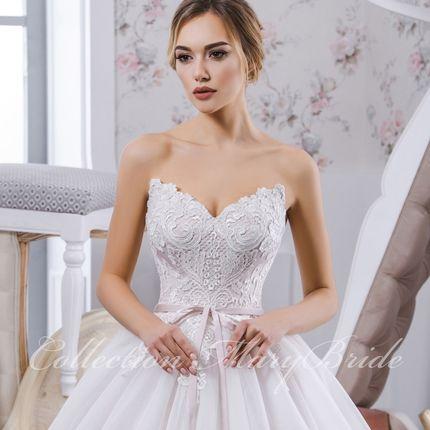 Розовое свадебное платье Susuana