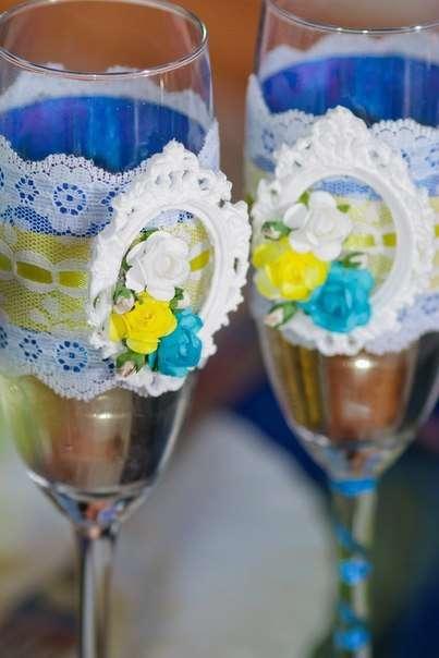 Фото 6586892 в коллекции Сине-жёлтая свадьба - Студия декора и флористики  - Malina group