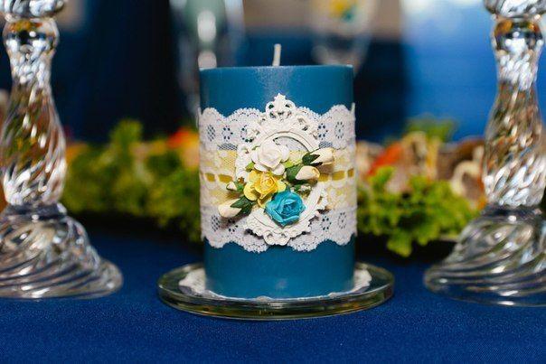 Фото 6586894 в коллекции Сине-жёлтая свадьба - Студия декора и флористики  - Malina group