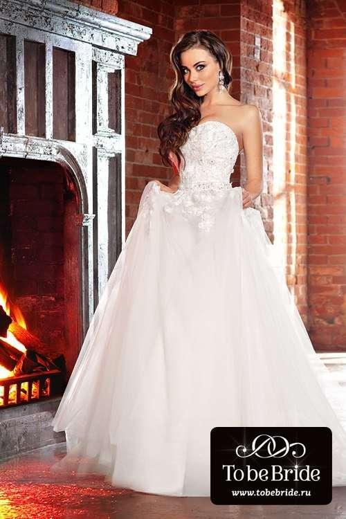 Теле-радиоведущая Дарья Герман в свадебном платье KP0189 - фото 6799748 Свадебный салон Кукла