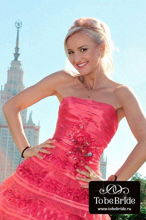Телеведущая Ольга Бузова в вечернем платье С0384В - фото 6799796 Свадебный салон Кукла