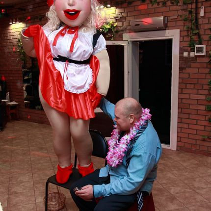 Ростовая кукла Красная шапочка