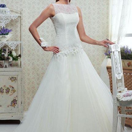 Платье свадебное со съёмным болеро