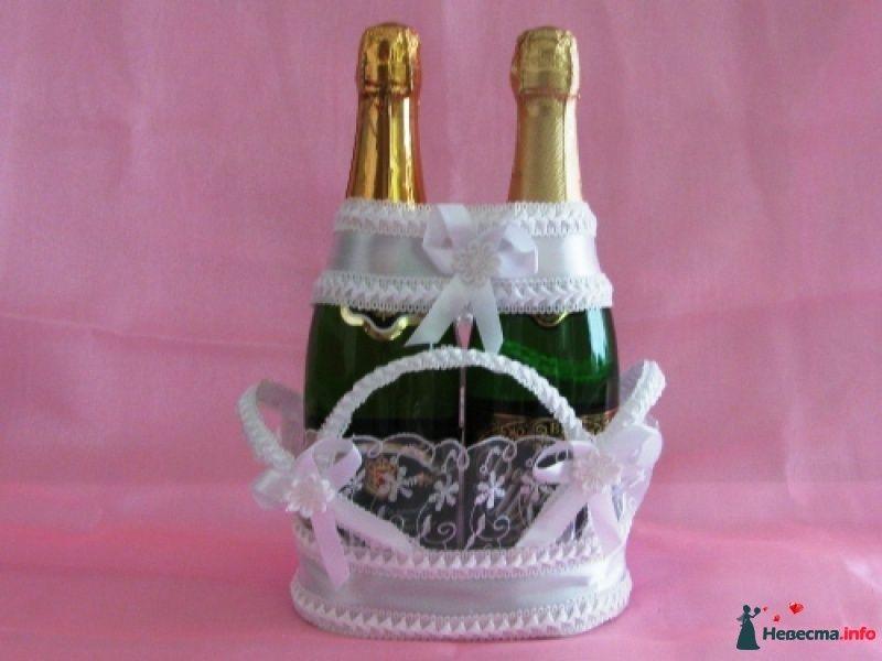 Корзинку для шампанского своими руками