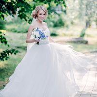 европейская свадьба, свадьба, жених, невеста, букет невесты, голубой, нежно голубой