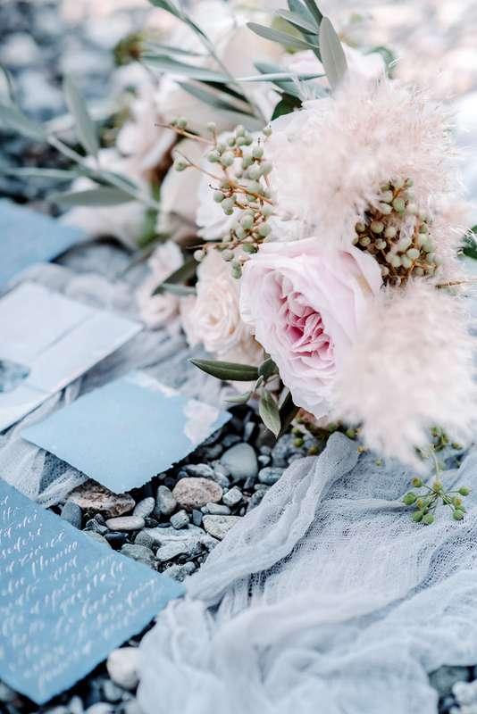 свадьба, свадебный фотограф, белый, голубой, айвори, персиковый, свадьба за границей, невеста, жених, образ невесты, полиграфия, букет евесты - фото 16686188 Маслова Виктория - фотограф