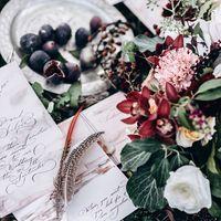 свадьба, абхазия, невеста жених, детали, флористика, бордовый, белый, черный