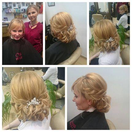 Свадебные причёски, локоны, укладки