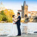 Свадебная фотосессия в Праге Татьяны и Сергея