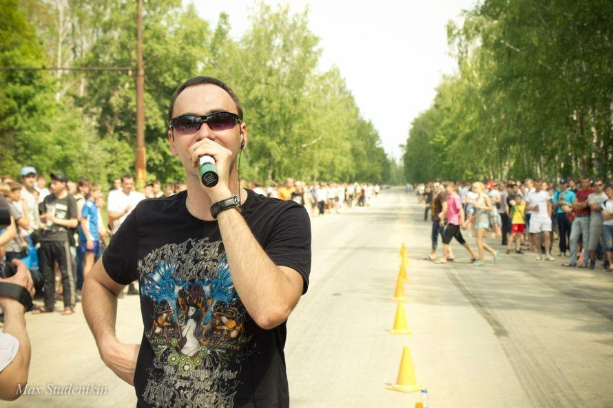 коментатор автомероприятия - фото 7054260 Aндрей Курьянов - организатор и ведущий