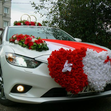 Свадебный кортеж Mazda-6