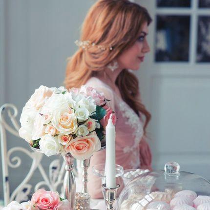 Оформление фотосессии для утра невесты