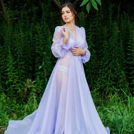 """Будуарное платье """"Лавандовое утро"""""""