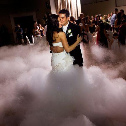 Дым для оформления первого танца