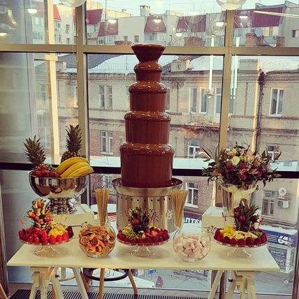 Большой шоколадный фонтан, 110 см