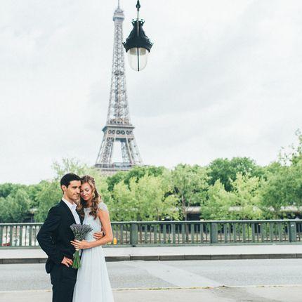 Свадебная церемония в Париже