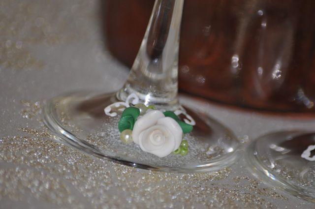 Фото 7378710 в коллекции Свадебные бокалы - Свадебные аксессуары от Ирины Козубовой