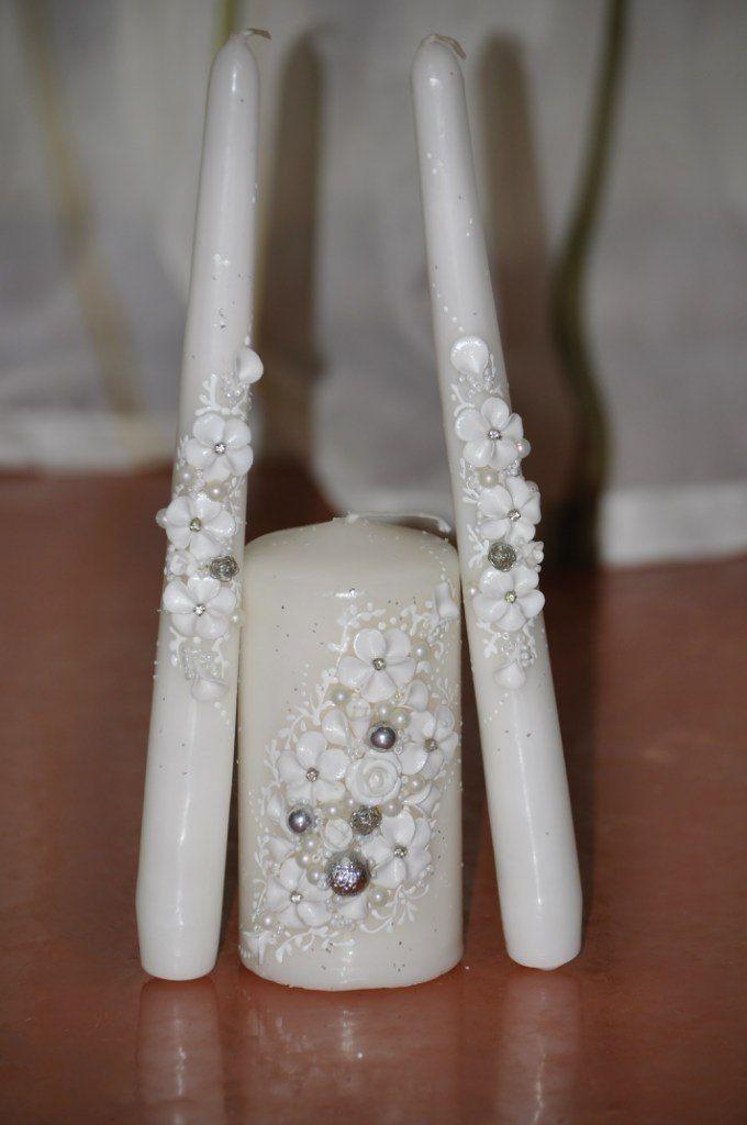 Фото 7378742 в коллекции Свадебные свечи - Свадебные аксессуары от Ирины Козубовой