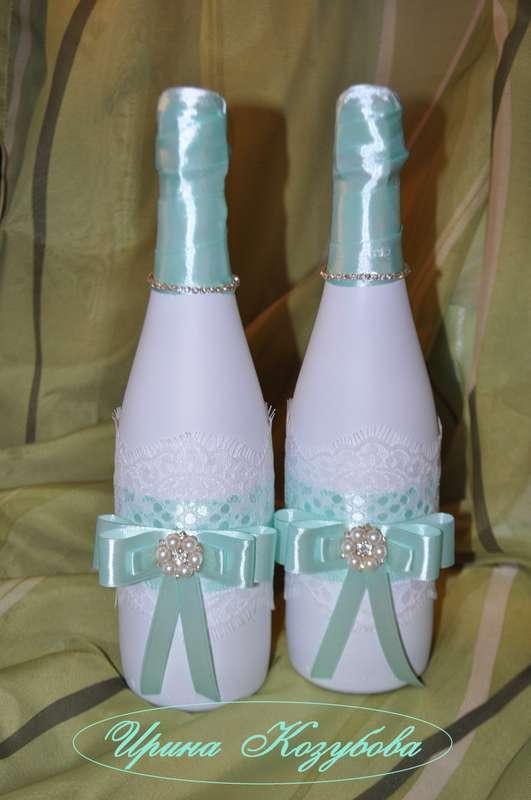 Фото 14665538 в коллекции Бутылки - Свадебные аксессуары от Ирины Козубовой