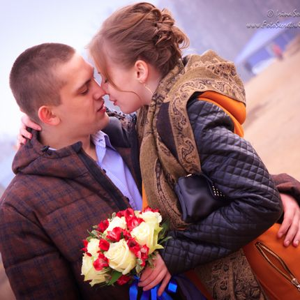 Фотосъёмка Love Story, 3 часа