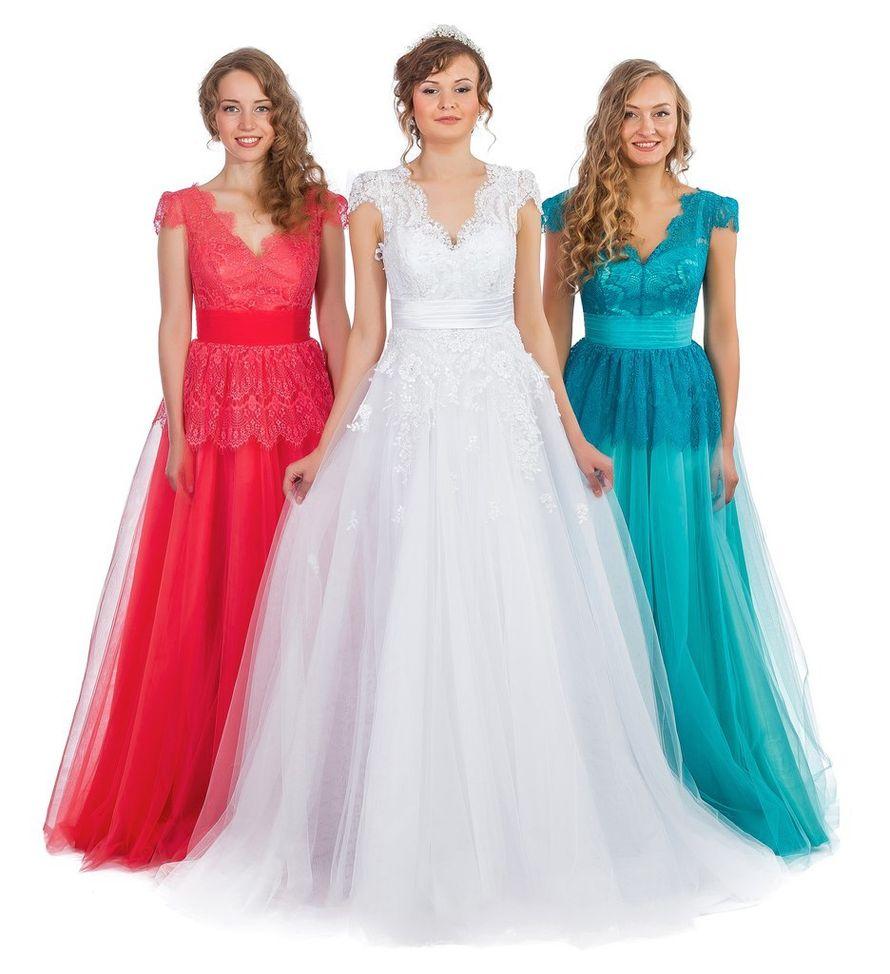 """Вечерние платья из коллекции """"Платья для подружек невесты"""" - фото 7416118 Салон проката платьев Garderob"""
