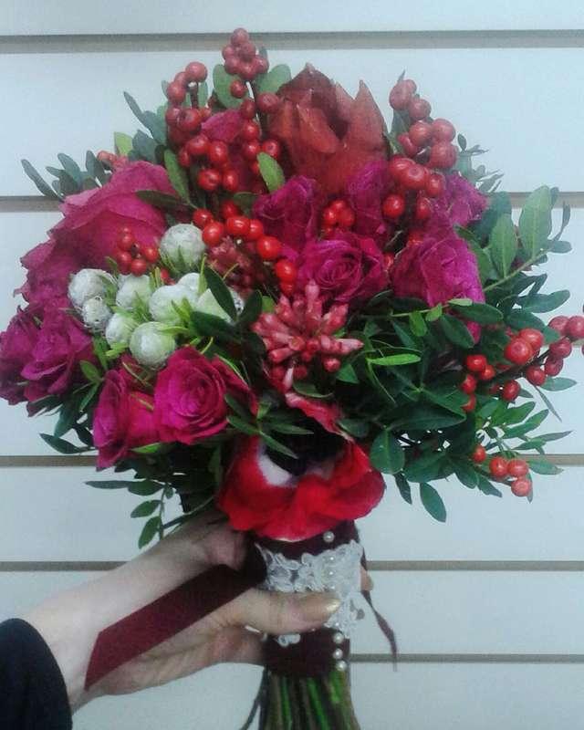 """Фото 8179752 в коллекции Свадебная флористика - Салон флористики и декора """"Розовый букет"""""""