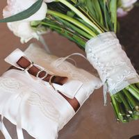 букет невесты, розовый, розово-белый, зимний букет, зимняя свадьба, зима, кольца, подушечка для колец, шоколадный, коричневый