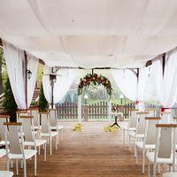 лакада, ресторан, выездная, выездная регистрация, церемония, арка, веранда, декор, оформление