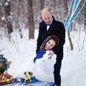 зимняя свадьба, свадьба зимой, а ля рус, рустик, русский стиль, самовар, варенье, баранки, сушки, зимний пикник, павлопосадский платок, кузьминки