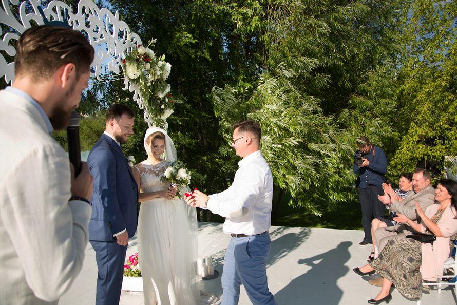 морская тема, морская свадьба, свадьба у воды, выездная регистрация, арка, синий - фото 15539740 Фото и видеосъёмка Fevish studio