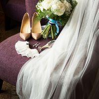 фата, туфли, сборы невесты, букет невесты