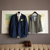 морская свадьба, морская тема, жилетка, костюм жениха, образ жениха, синий