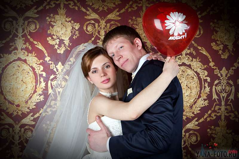 зимняя свадьба Киры и Дмитрия - фото 75795 Фотограф Яна Роджерс