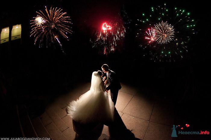 Свадебный салют - фото 105435 Фотограф Юлия Богданович