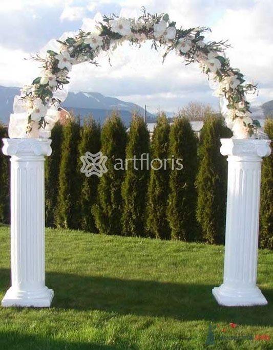 Венчальная арка - фото 30404 Art Floris - комплексное оформление