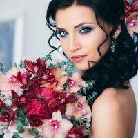Причёска и макияж Екатерина Гуляева Фотограф Владимир Гуляев  Флорист-декоратор Гульнур Насырова