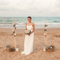 Организаторы: студия стильных свадеб Миндаль Визажист, мастер по прическам и фотограф: Настасия Гусарова Аликанте, Коста-Бланка