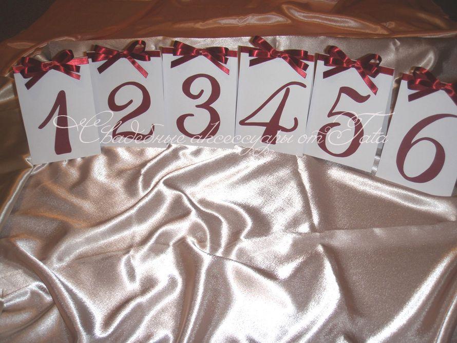 Фото 641659 в коллекции Всё для рассадки гостей - Свадебные аксессуары от Tata