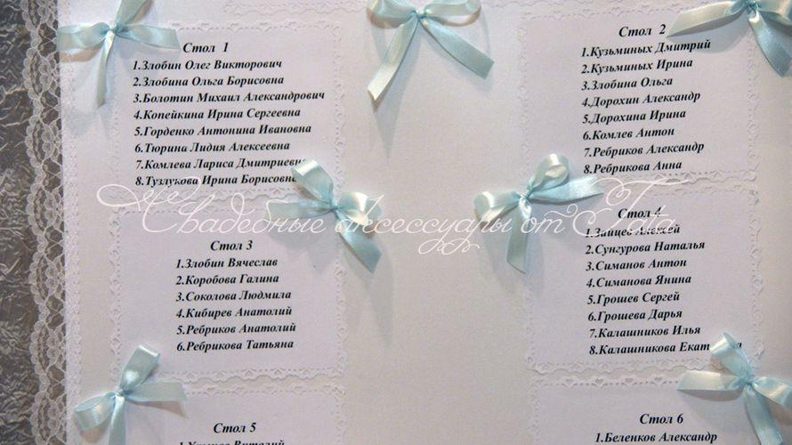 Фото 641695 в коллекции Всё для рассадки гостей - Свадебные аксессуары от Tata