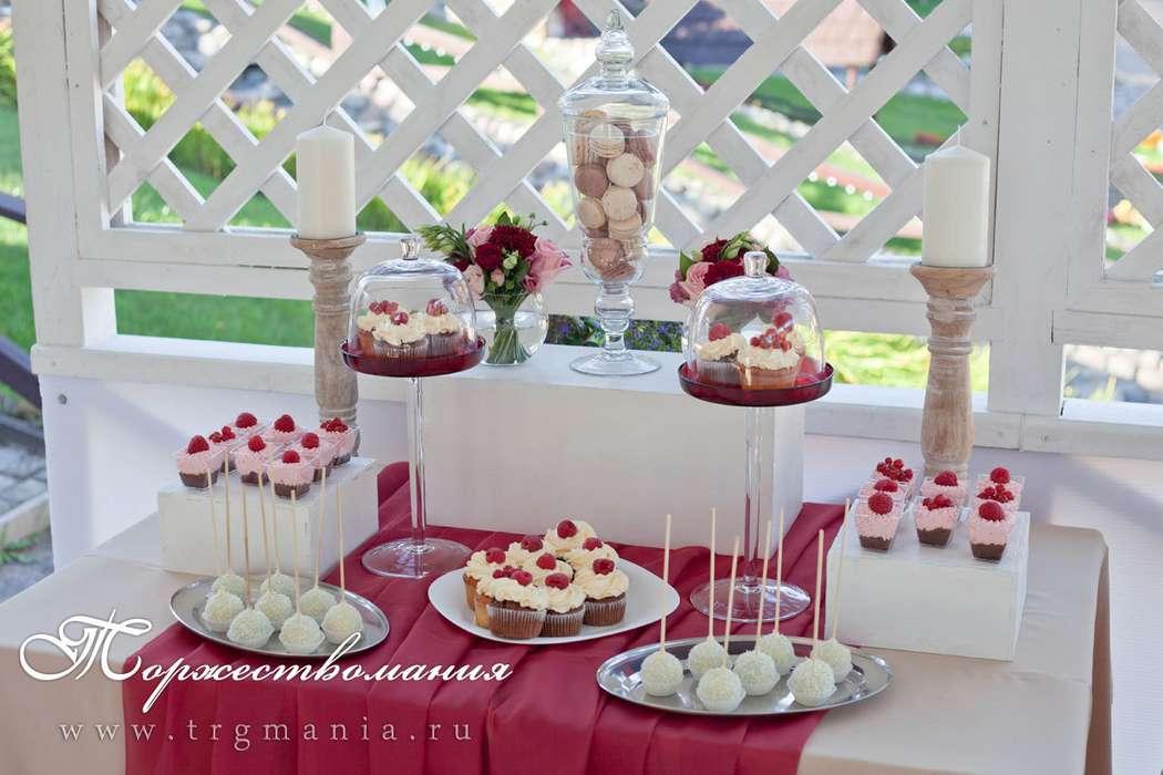 сладкий стол на свадьбе - фото 7509030 Студия декора и флористики Торжествомания