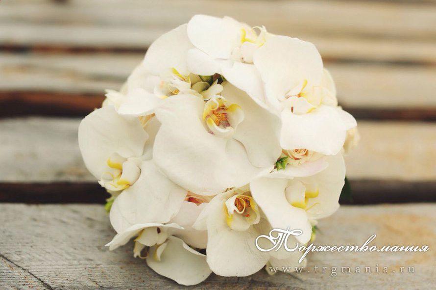 """свадебный букет невесты из орхидей - фото 7633406 Студия декора и флористики """"Торжествомания"""""""