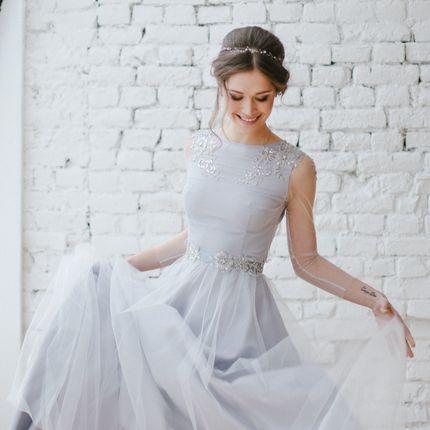 """Свадебное платье """"Звездная пыль"""""""