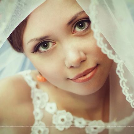Макияж невесты и вечерний макияж