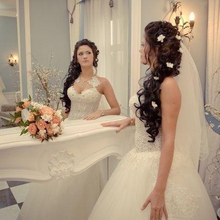 Свадебный образ - причёска и макияж