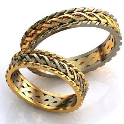 """Парные кольца """"Цепочкой"""""""