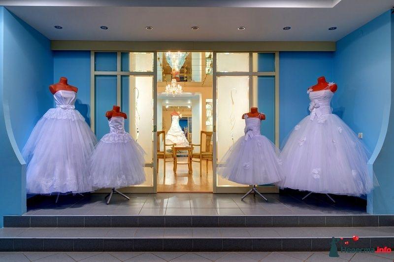 """В комплект к свадебному платье можно подобрать платье маленькой подружки невесты такого же фасона. - фото 449574 Торговый дом """"Салон новобрачных"""" - платья"""