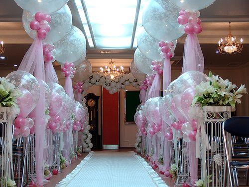 Украшен свадебного зала своими руками
