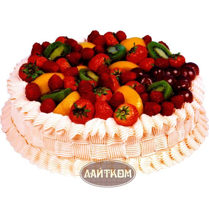 Эксклюзивные торты с фруктами фото