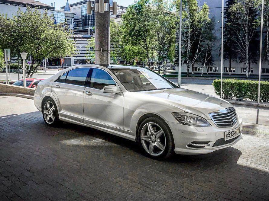 Mercedes W221 S500L в аренду