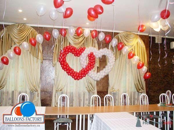 Цепочки и сердца - фото 28627 Фабрика Шаров - оформление воздушными шарами
